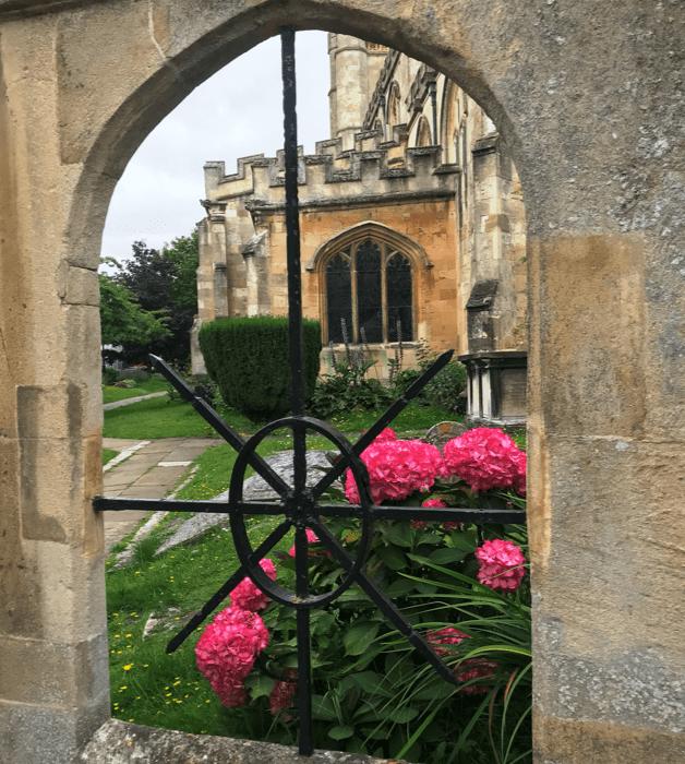 Location - church window
